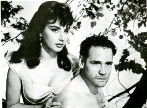 Isabel Sarli und Armando Bó in El trueno entre las hojas (Die grüne Peitsche, 1958) II © INCAA