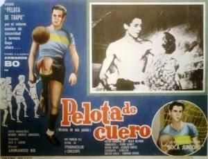 AFICHE PELOTA DE CUERO (1962)